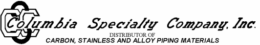 Columbia Specialty Company Inc.